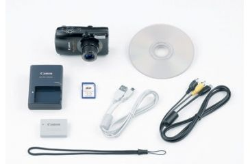 PowerShot SD990 IS Digital ELPH Kit - Contents