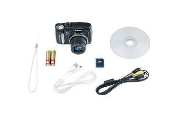 Canon SX120 IS PowerShot Digital Camera Package Content