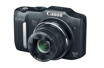 Canon Powershot Sx160 Is Camera, Black 6354B001