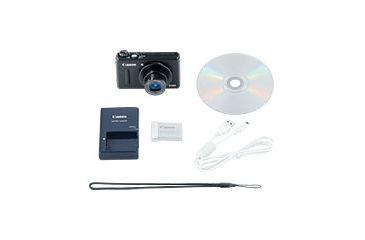 4-Canon PowerShot S100 Digital Camera -12.1 Megapixel, 5x Optical Zoom