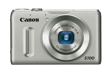 2-Canon PowerShot S100 Digital Camera -12.1 Megapixel, 5x Optical Zoom