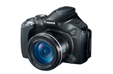 1-Canon Powershot SX40 HS Digital Camera - 12.1 MP, 35x Optical Zoom