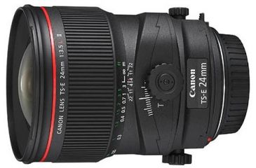 1-Canon TS-E 24mm f/3.5L II Tilt-Shift Lens 3552B002