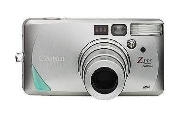 Canon Sure shot Z155 Camera Caption Kit with Case, Film