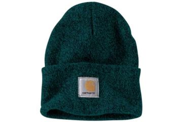 18d265b3d7002a Carhartt Acrylic Watch Hat - Mens, Hunter Green/Black, One Size, A18