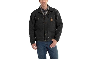 7d279c696a1 Carhartt Berwick Jacket for Mens, Black, Small/Regular 101230-001-REG