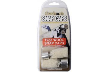 Carlson's Wool Snap Caps, 12 Gauge, 2 per package 00105