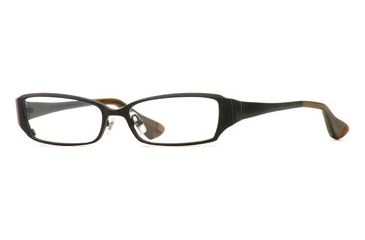 Carmen Marc Valvo CM Etta SECM ETTA00 Single Vision Prescription Eyewear - Onyx SECM ETTA005345 BK