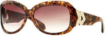 Carmen Marc Valvo CM Garbo SECM GARB06 Sunglasses - Amber SECM GARB066225 TO