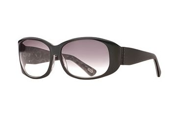 Carmen Marc Valvo CM Gia SECM GIAA06 Progressive Prescription Sunglasses SECM GIAA065925 BK - Frame Color: Black Leopard, Lens Diameter: 59 mm