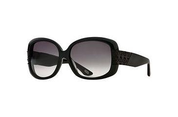 Carmen Marc Valvo CM Giovanna SECM GIOV06 Bifocal Prescription Sunglasses SECM GIOV065830 BK - Lens Diameter: 58 mm, Frame Color: Onyx