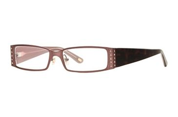 Carmen Marc Valvo CM Julissa SECM JULI00 Bifocal Prescription Eyeglasses - Ginger SECM JULI005340 BN