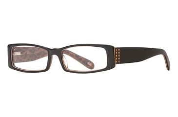 Carmen Marc Valvo CM Keira SECM KEIR00 Bifocal Prescription Eyeglasses - Brown Leopard SECM KEIR005235 BN