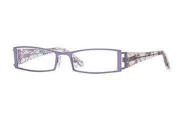 Carmen Marc Valvo CM Lourdes SECM LOUR00 Eyeglass Frames - Lilac SECM LOUR005140 PU