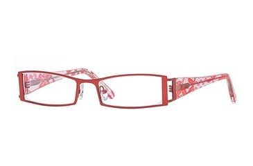 Carmen Marc Valvo CM Lourdes SECM LOUR00 Eyeglass Frames - Red SECM LOUR005140 RD