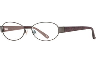 Carmen Marc Valvo CM Pauletta SECM PAUL00 Single Vision Prescription Eyewear - Slate SECM PAUL005335 GM