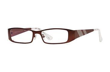 Carmen Marc Valvo CM Tangier SECM TANG00 Progressive Prescripton Eyeglasses - Plum Oyster SECM TANG005240 PU