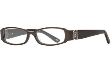 Carmen Marc Valvo CM Viviana SECM VIVI00 Single Vision Prescription Eyewear - Cafe SECM VIVI005032 BN