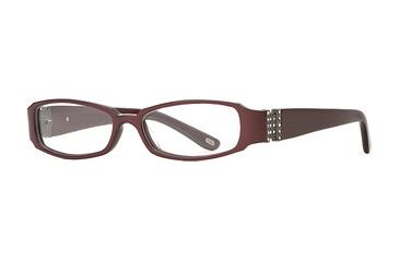 Carmen Marc Valvo CM Viviana SECM VIVI00 Single Vision Prescription Eyewear - Chili SECM VIVI005032 BUR