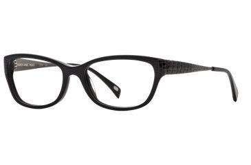 Carmen Marc Valvo CMV Dina SECM DINA00 Eyeglass Frames - Black SECM DINA005235 BK