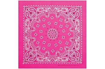 Carolina Manufacturing Neon Paisley Bandana Pink B22NEO-100635