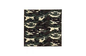 Carolina Manufacturing Woodland Camouflage Bandana B22CAM-000025
