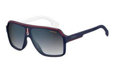 54334ad93cd7 Carrera 1001/S Sunglasses CA1001S-08RU-KM-6211 - Blue/Red