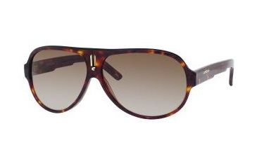 Carrera 25 Sunglasses - Dark Havana Frame, Brown Gradient Lenses CA25S008ECC