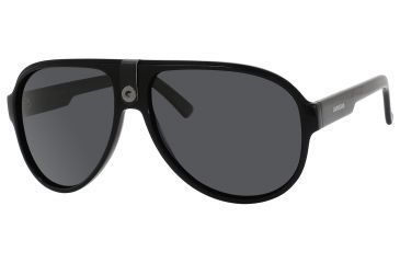 Carrera 32/P/S Sunglasses CA32PS-0807-RA-6014 - Black Frame, Gray Polarized Lenses, Lens Diameter 60mm, Distance Between Lenses 14mm
