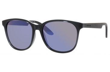 Carrera 5001/S Sunglasses CA5001S-0B7V-IH-5617 - Transparent Gray Frame, Gray Violet Mirror Lenses, Lens Diameter 56mm, Distance Between Lenses 17mm