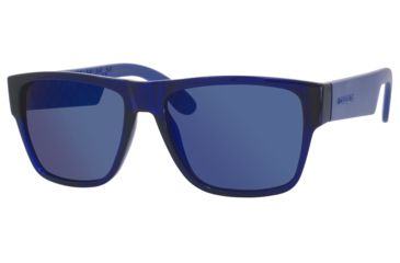 Carrera 5002/S Sunglasses CA5002S-0B50-1G-5517 - Blue Frame, Multilayer Blue Lenses, Lens Diameter 55mm, Distance Between Lenses 17mm