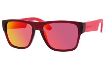 Carrera 5002/S Sunglasses CA5002S-0B5Q-ZP-5517 - Burgundy Frame, Ml.orange Lenses, Lens Diameter 55mm, Distance Between Lenses 17mm