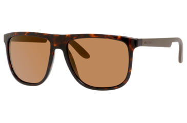 Carrera 5003/S Sunglasses CA5003S-0DDM-1L-5816 - Havana Frame, Dark Brown Flash Gold Lenses, Lens Diameter 58mm, Distance Between Lenses 16mm