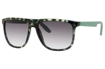 Carrera 5003/S Sunglasses CA5003S-0DER-9C-5816 - Havana Green Frame, Dark Gray Gradient Lenses, Lens Diameter 58mm, Distance Between Lenses 16mm