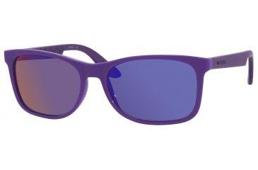 Carrera 5005/S Sunglasses CA5005S-0DEL-TE-5617 - Violet Frame, Black Mirror Lenses, Lens Diameter 56mm, Distance Between Lenses 17mm