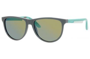 Carrera 5007/S Single Vision Prescription Sunglasses CA5007S-00SV-3U-5616 - Lens Diameter 56 mm, Frame Color Gray Iredescnet