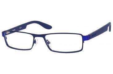 Carrera 5503 Eyeglass Frames CA5503-0BXK-5417 - Shiny Blue / Matte Blue Frame, Lens Diameter 54mm, Distance Between Lenses 17mm