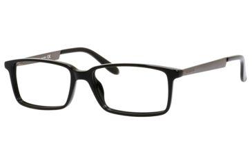 Carrera 5514 Bifocal Prescription Eyeglasses CA5514-0B2X-5416 - Black Semi Matte Dark Rutheniu Frame, Lens Diameter 54mm, Distance Between Lenses 16mm