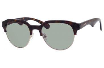 Carrera 6001/S Single Vision Prescription Sunglasses CA6001S-0QSH-DJ-5119 - Lens Diameter 51 mm, Frame Color Dark Havana