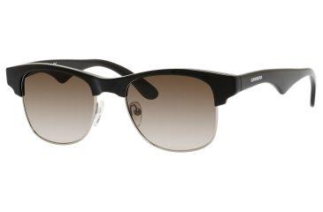 Carrera 6009/S Progressive Prescription Sunglasses CA6009S-0DEA-CC-5119 - Lens Diameter 51 mm, Frame Color Ruthenium / Shiny Black