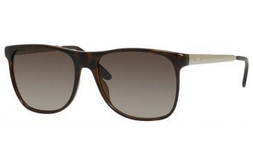 Carrera 6011/S Bifocal Prescription Sunglasses CA6011S-08KZ-HA-5717 - Lens Diameter 57 mm, Frame Color Havana