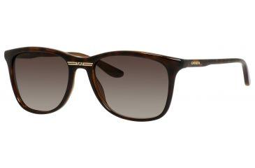 Carrera 6013/S Single Vision Prescription Sunglasses CA6013S-0DWJ-HA-5418 - Lens Diameter 54 mm, Frame Color Havana