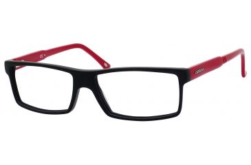 Carrera 6175 Bifocal Prescription Eyeglasses CA6175-0TPH-5415 - Matte Black / Red Frame, Lens Diameter 54mm, Distance Between Lenses 15mm