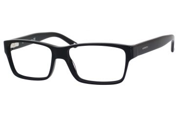 Carrera 6178 Eyeglass Frames CA6178-0807-5415 - Black Frame, Lens Diameter 54mm, Distance Between Lenses 15mm
