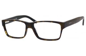 Carrera 6178 Eyeglass Frames CA6178-0FQF-5615 - Havana Black Frame, Lens Diameter 56mm, Distance Between Lenses 15mm