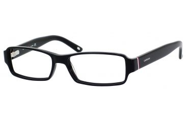 Carrera 6179 Progressive Prescription Eyeglasses CA6179-0OF7-5215 - Black / White Red Frame, Lens Diameter 52mm, Distance Between Lenses 15mm