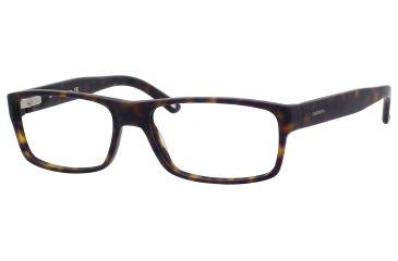 Carrera 6180 Eyeglass Frames CA6180-0086-5517 - Dark Havana Frame, Lens Diameter 55mm, Distance Between Lenses 17mm