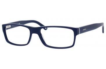 Carrera 6180 Bifocal Prescription Eyeglasses CA6180-0OG0-5517 - Blue / Black White Blue Frame, Lens Diameter 55mm, Distance Between Lenses 17mm