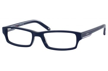 Carrera 6181 Single Vision Prescription Eyeglasses CA6181-01J6-5217 - Dark Blue Frame, Lens Diameter 52mm, Distance Between Lenses 17mm