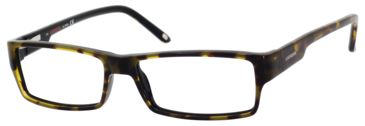 Carrera 6184 Eyeglass Frames CA6184-0FQF-5215 - Havana Black Frame, Lens Diameter 52mm, Distance Between Lenses 15mm